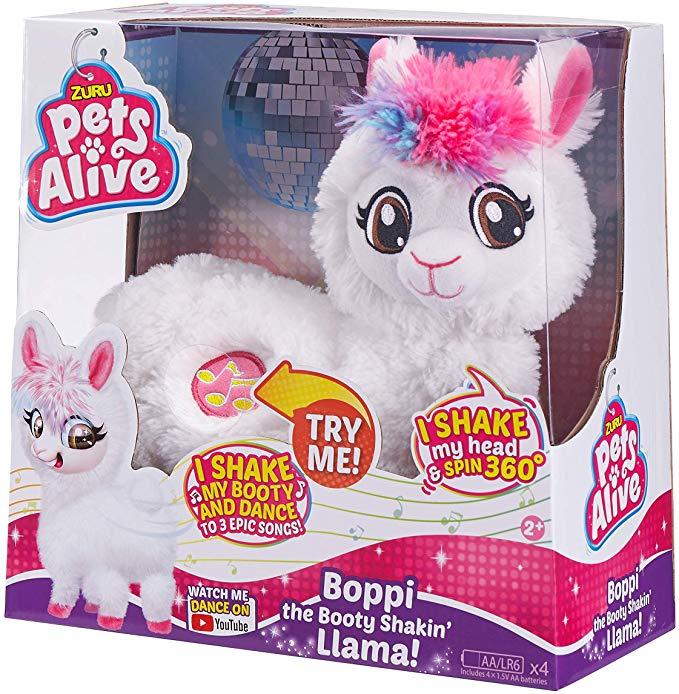 Pets Alive Boppi the Robotic Llama