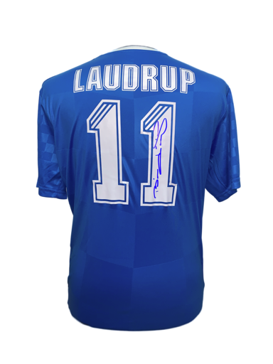 Brian Laudrup Signed Rangers 11 Shirt