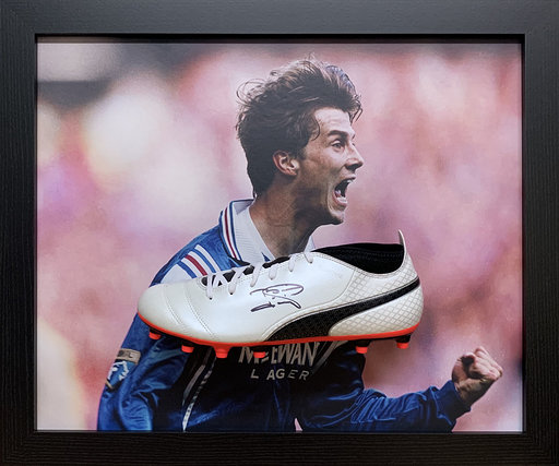 Brian Laudrup Signed Football Boot