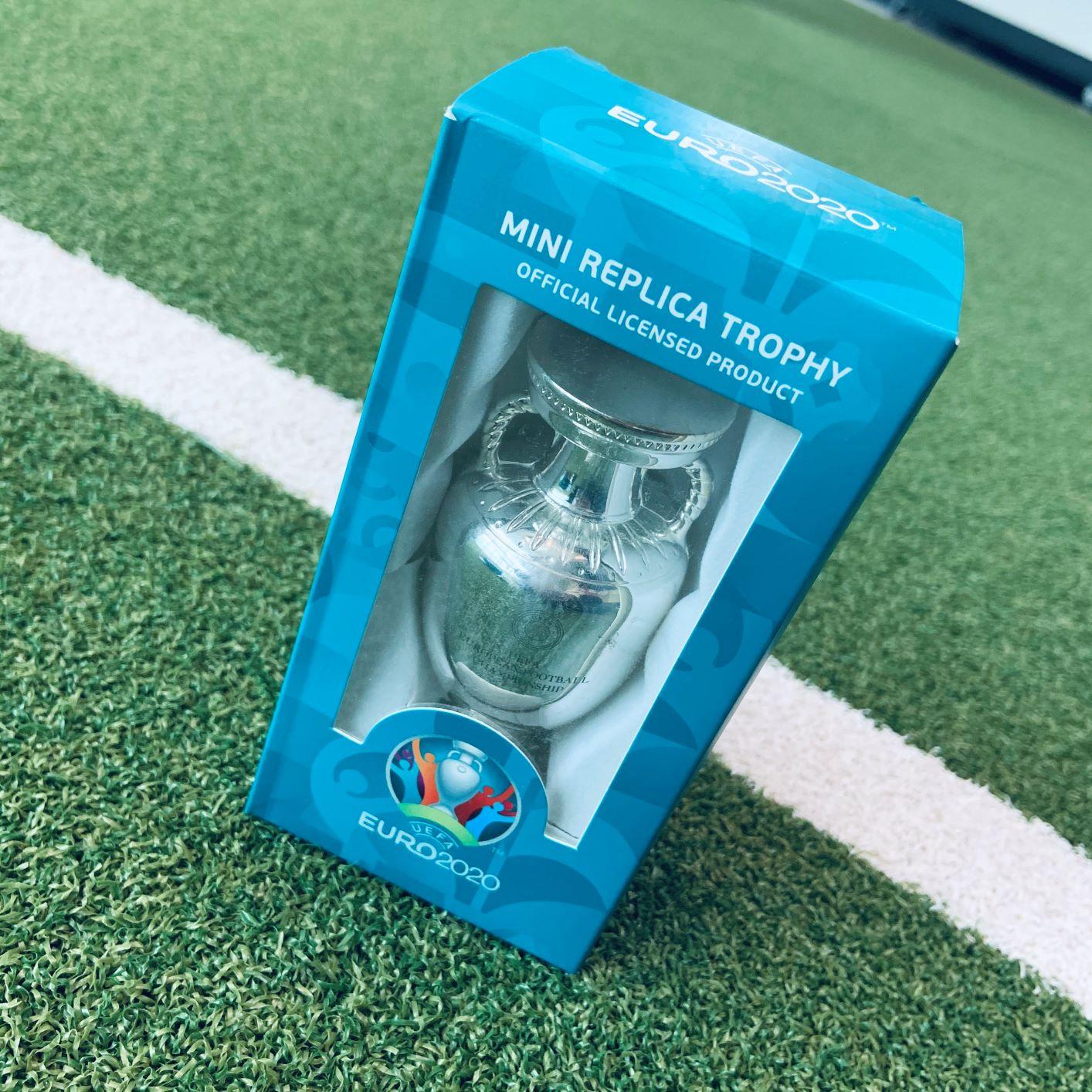 UEFA Euro 2020 Trophy Replica 100mm