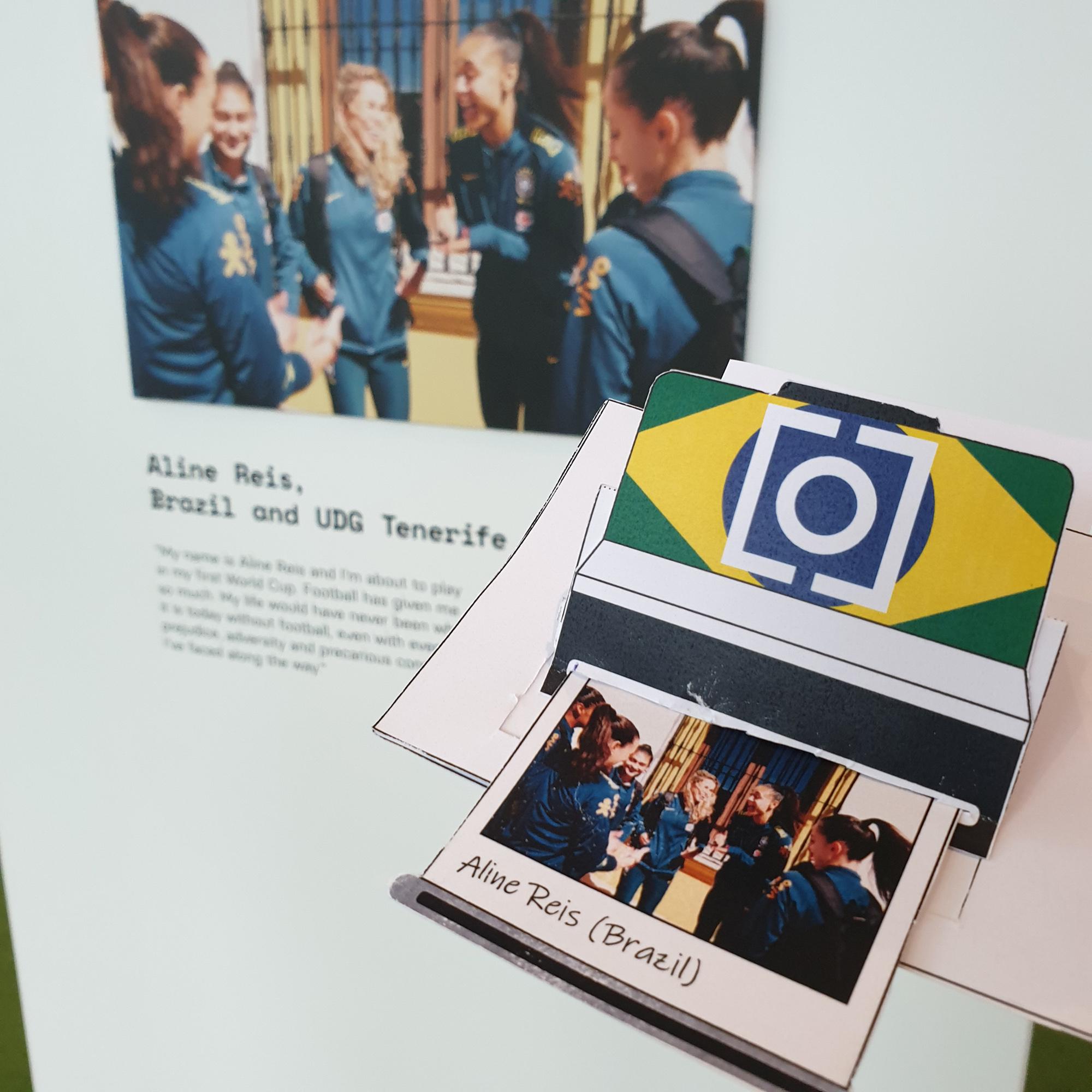 Goal Click Pop Up Polaroid