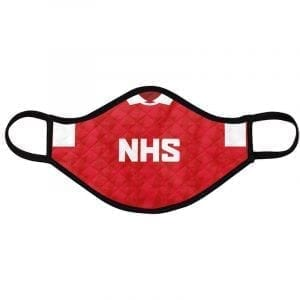 Gunners football face mask