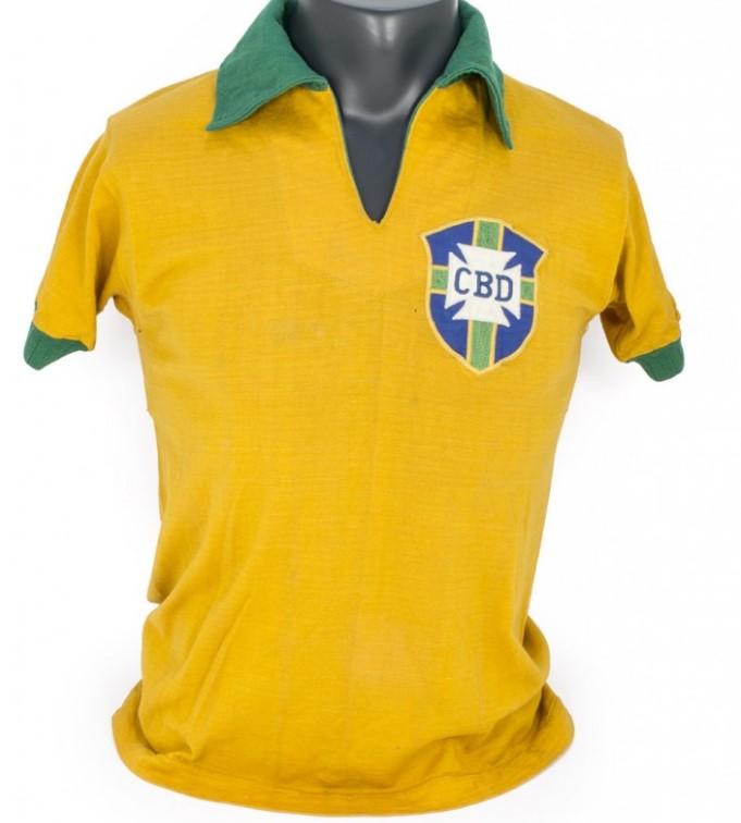 Yellow Brazil Pele shirt