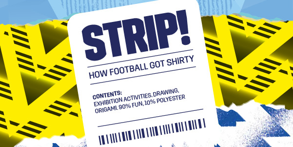 National Football Museum Strip kids activity