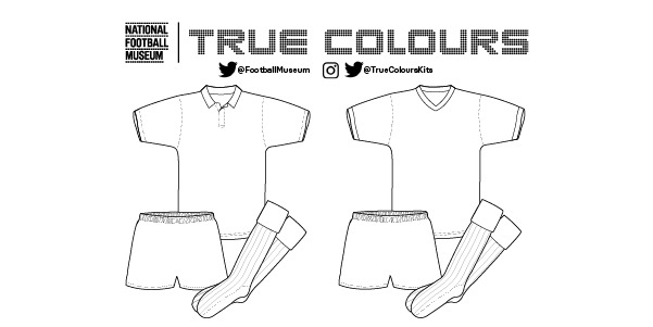 True Colours football shirt colouring kit