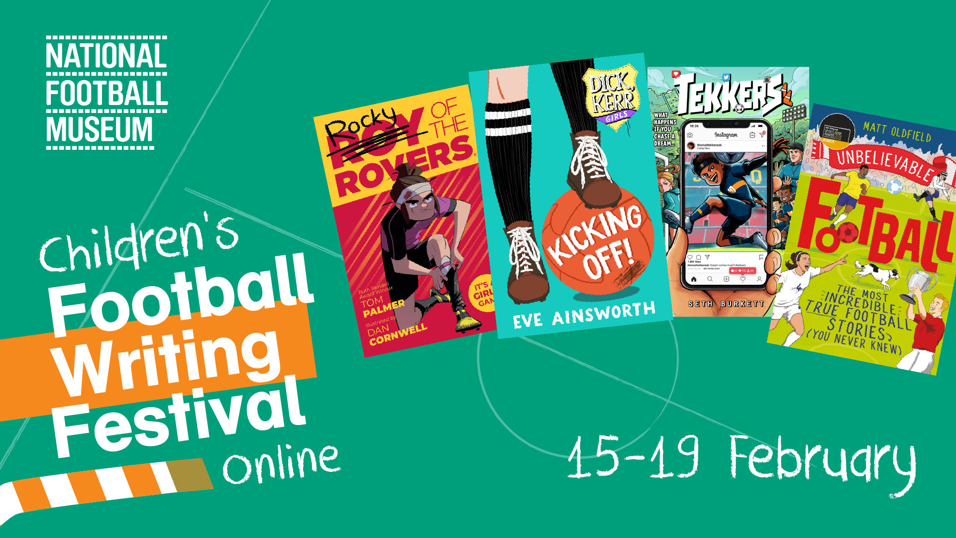 Children's Football Writing Festival What's On updated