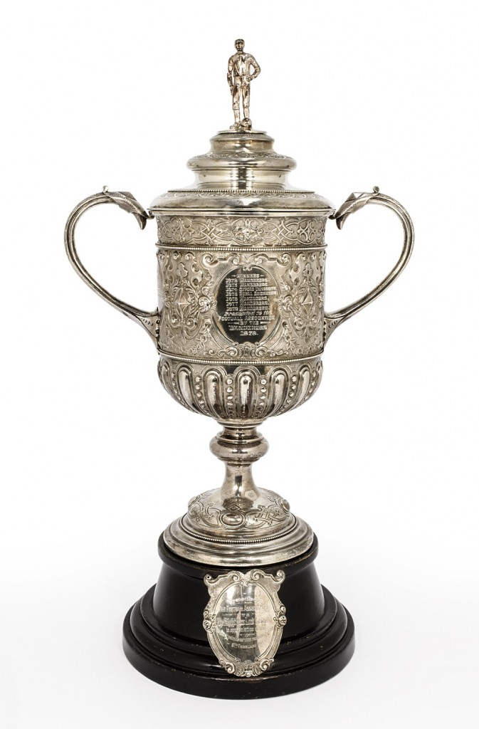 fa cup trophy 1896 - 1910