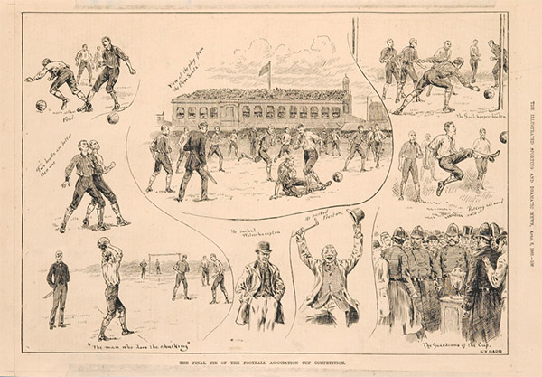 kennington oval 1889 fa cup final