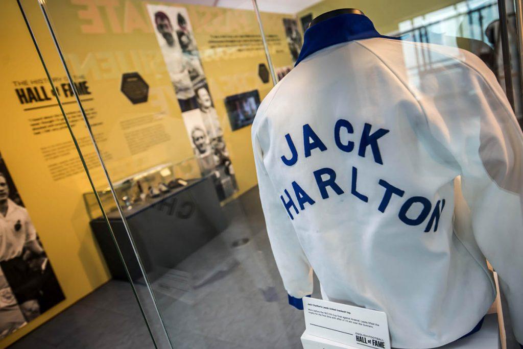 NFM Hall of Fame Jack Charlton tracksuit