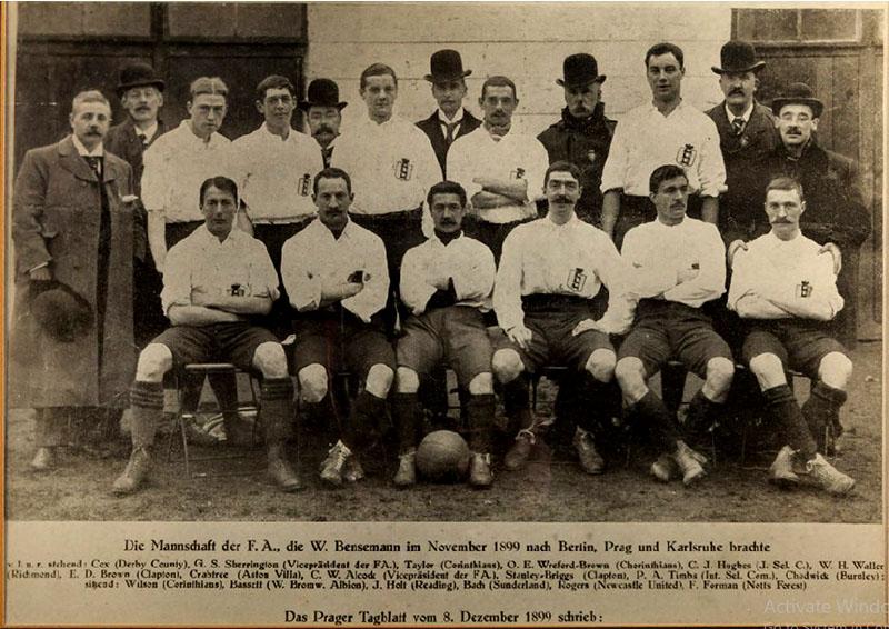 England team 1899