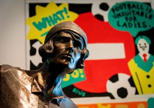 Statue of footballer Lily Parr