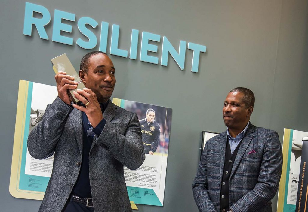 Paul Ince Viv Anderson National Football Museum Hall of Fame 2021