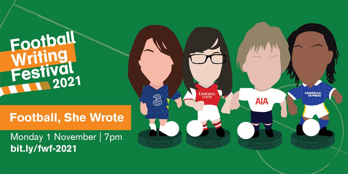Football Writing Festival 2021 Football She Wrote v2